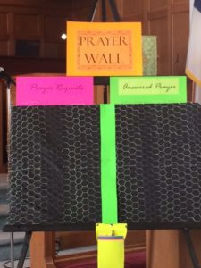 Church Prayer Wall