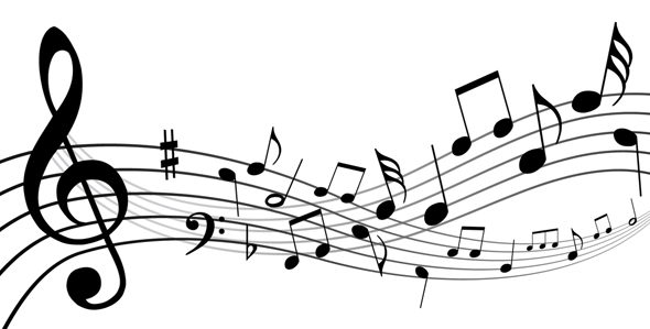 music staff of notes